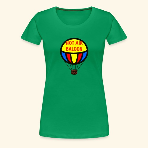 hotair baloon - Maglietta Premium da donna
