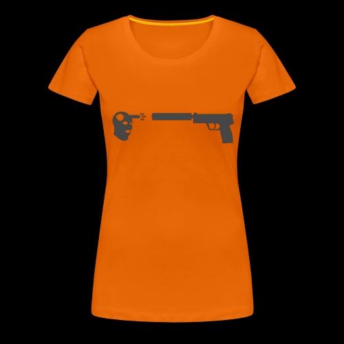 csgo usp headshot - Premium-T-shirt dam