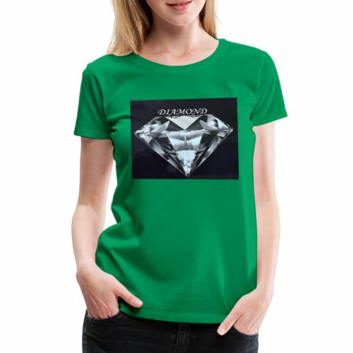 Diamond - Premium-T-shirt dam