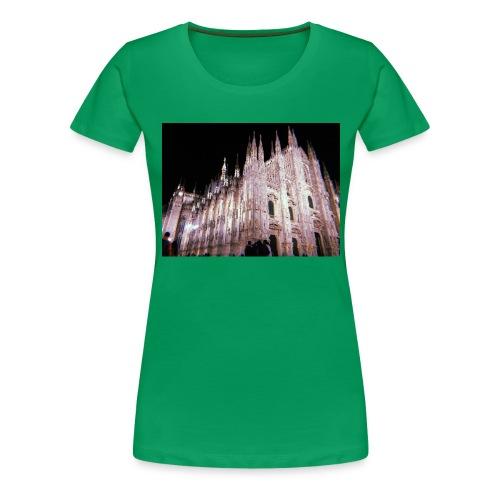 duomo di milano - Camiseta premium mujer