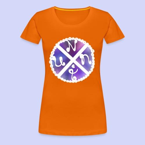 Nuni! cross, NuniDK Collection - Female top - Dame premium T-shirt
