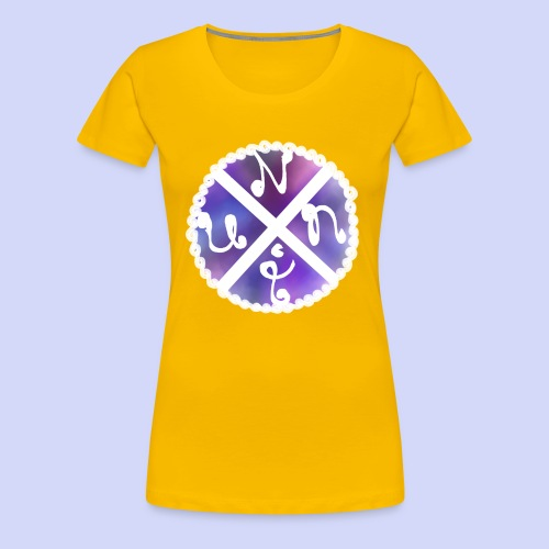 Nuni! cross, NuniDK Collection - Female top - Dame premium T-shirt