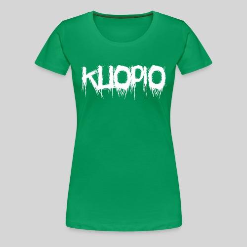 Kuopio - Naisten premium t-paita