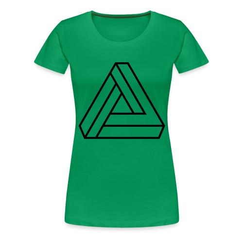triangulos 1 - Camiseta premium mujer