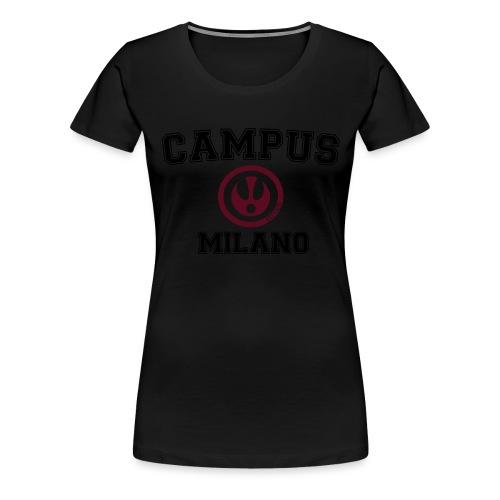 FITTICS MILAN CAMPUS - Women's Premium T-Shirt