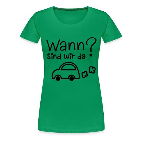 Reise-Shirt - Frauen Premium T-Shirt