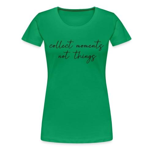 collet moments - Camiseta premium mujer