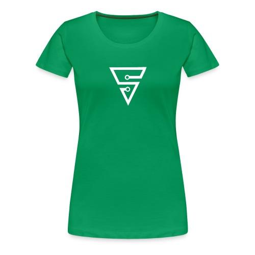 Spinaxe SnapCap - Women's Premium T-Shirt