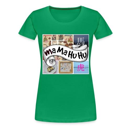 Ma ma hu hu / So-so - Naisten premium t-paita