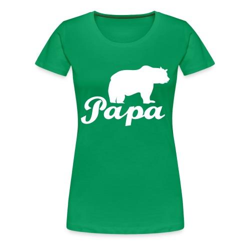 papa beer - Vrouwen Premium T-shirt