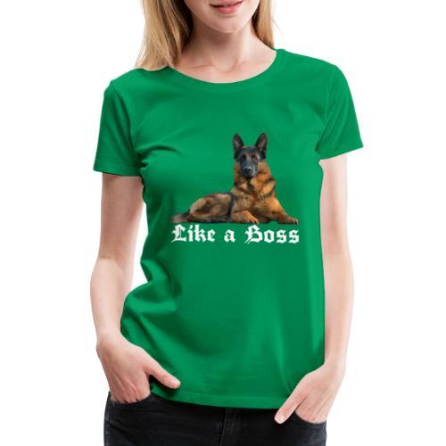 Schäferhund,Hundesport,Deutscher Schäferhunde, - Frauen Premium T-Shirt