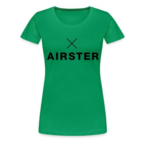 Airster_final_typeX_Sprea - Frauen Premium T-Shirt
