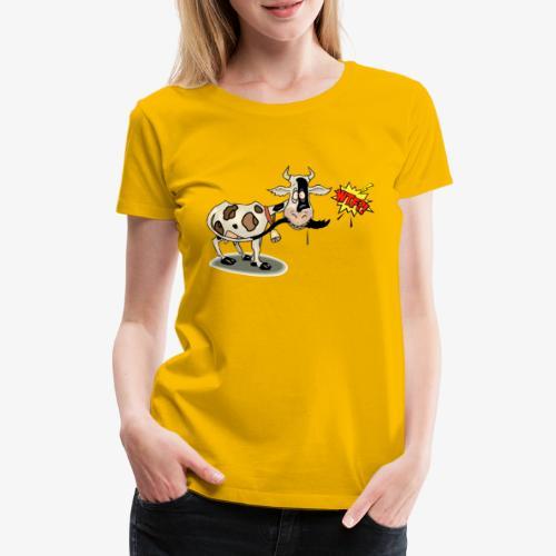 Vaquita - Camiseta premium mujer