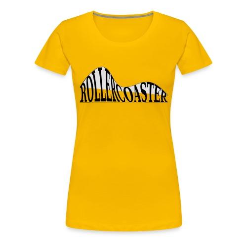 envelope_coaster - Dame premium T-shirt