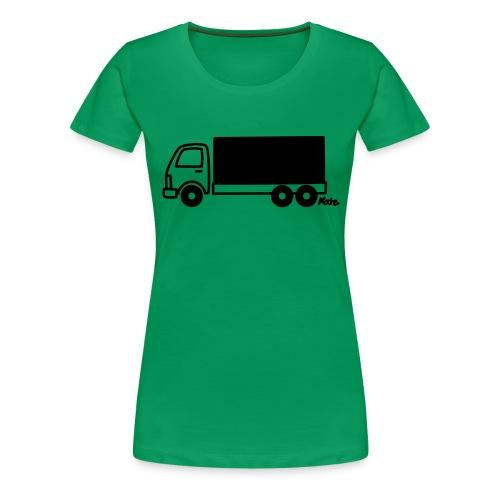 LKW lang - Frauen Premium T-Shirt