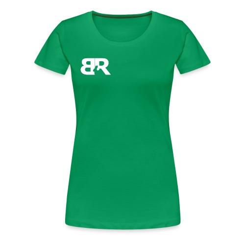 BR LOgo voor op truien png - Vrouwen Premium T-shirt