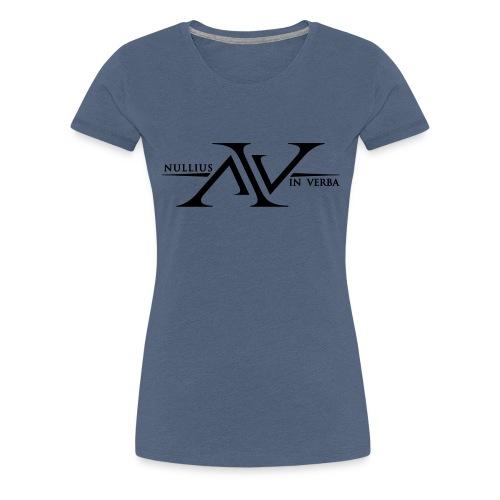 Nullius In Verba Logo - Women's Premium T-Shirt