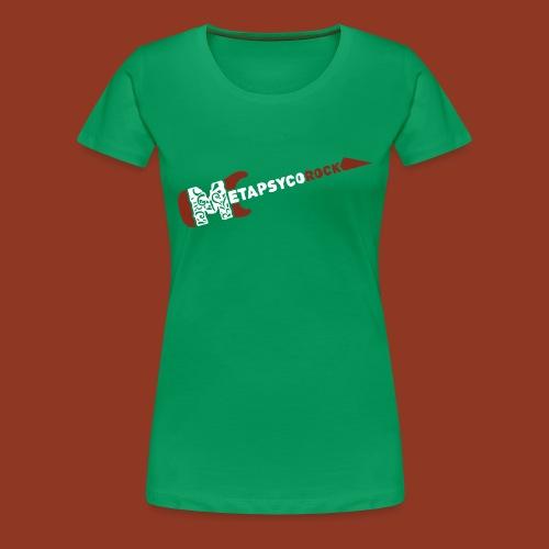 METAPSYCOROCK - Maglietta Premium da donna