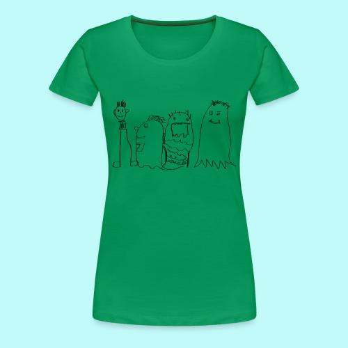 4 SportsGeister - Frauen Premium T-Shirt