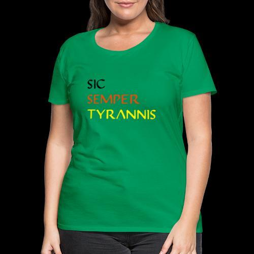 sicsemper - Frauen Premium T-Shirt