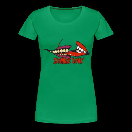 ZOMBIE LOVE - Camiseta premium mujer