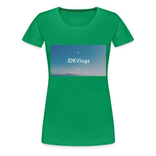 IDKVlogs Mug - Women's Premium T-Shirt