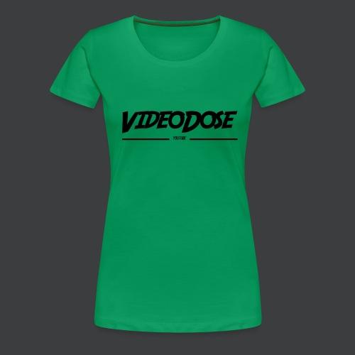 t-shirt_design_VideoDose - Vrouwen Premium T-shirt
