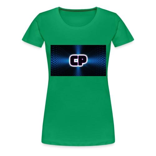 logo club pingvin - Premium T-skjorte for kvinner