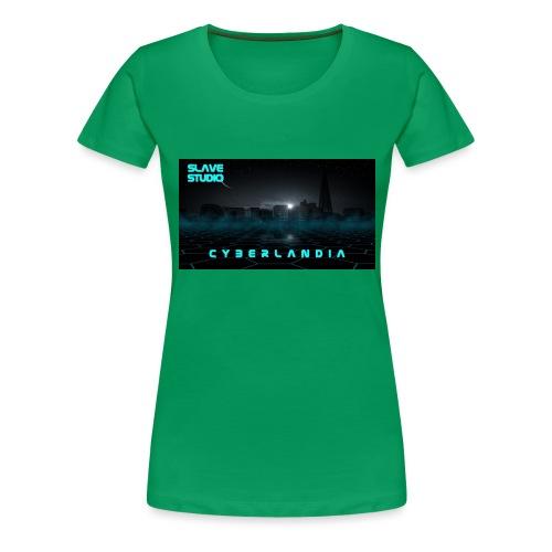 Cyberlandia - Maglietta Premium da donna