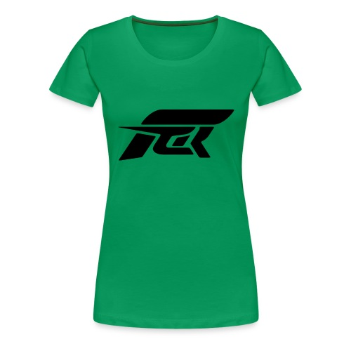 FACR LOGO Sharp Black - Women's Premium T-Shirt