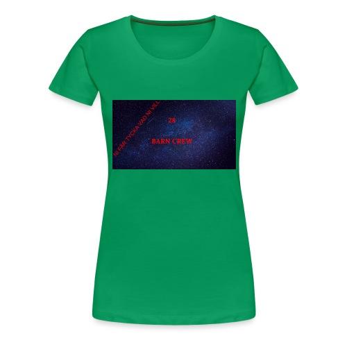 FÖR KOLLA BARN - Premium-T-shirt dam