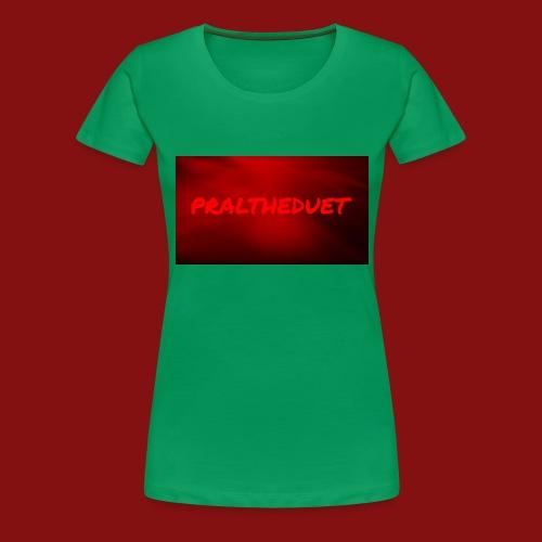 My Post 6 - Premium-T-shirt dam