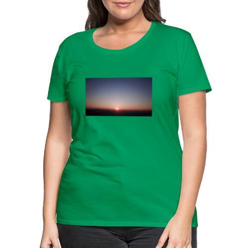 SONNENAUFGANG - Frauen Premium T-Shirt