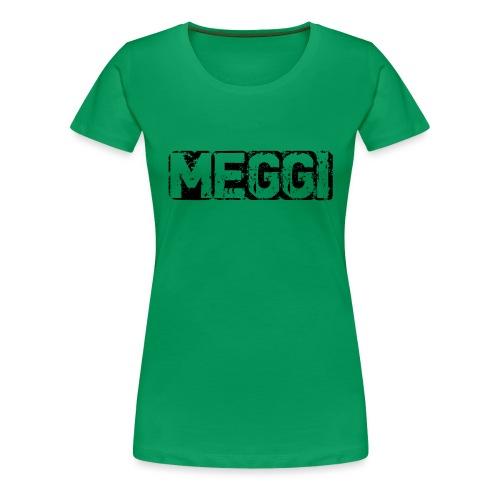 MEGGI Logo - Frauen Premium T-Shirt
