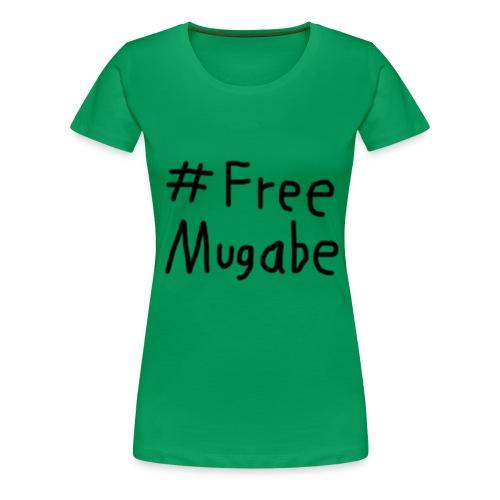 Free Mugabe - Frauen Premium T-Shirt