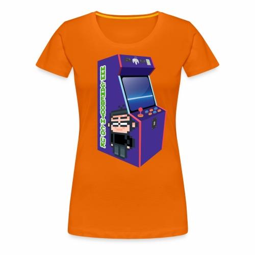 Game Booth Arcade Logo - Women's Premium T-Shirt