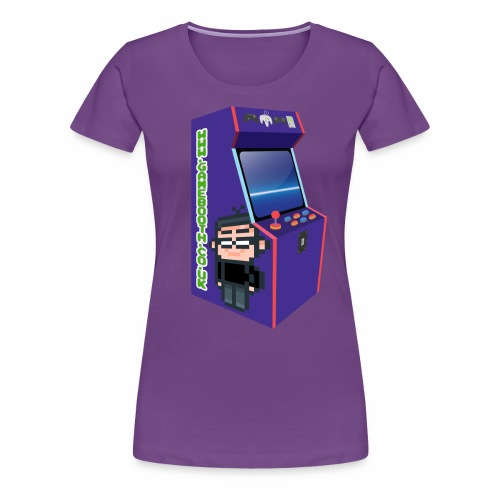 Game Booth Arcade Logo - Women's Premium T-Shirt