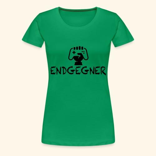 Endgegner Konsole zocken online twitch gamer - Frauen Premium T-Shirt