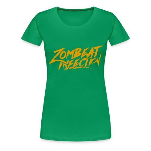 String LogoOrange - T-shirt Premium Femme