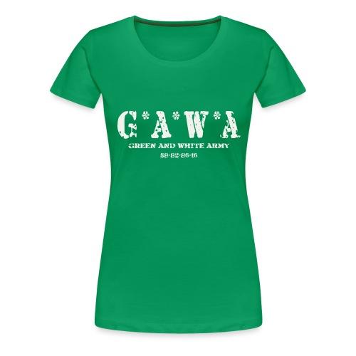 Northern Irelans GAWA bag - Women's Premium T-Shirt