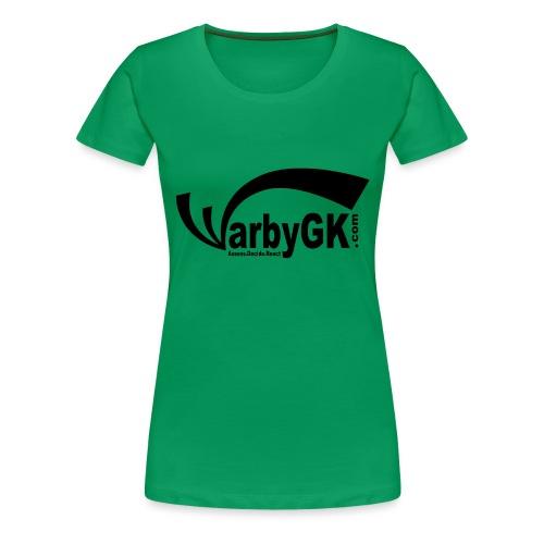 WarbyGK Logo - Women's Premium T-Shirt