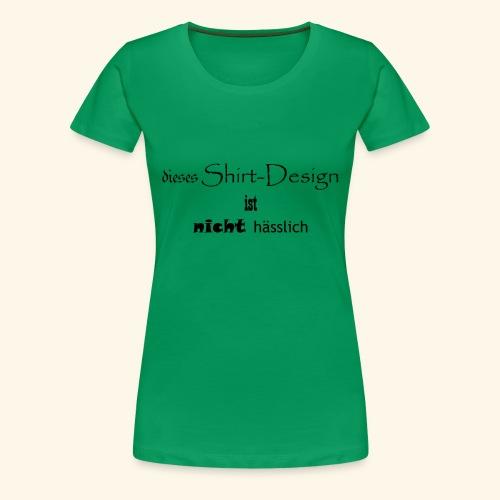 test_shop_design - Frauen Premium T-Shirt