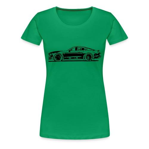 Vektor - Frauen Premium T-Shirt