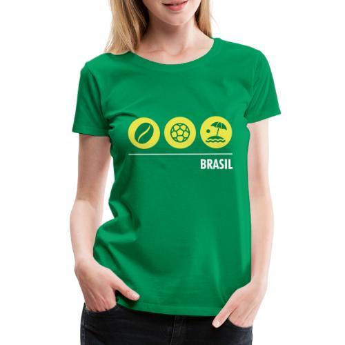 Circles - Brazil - Women's Premium T-Shirt