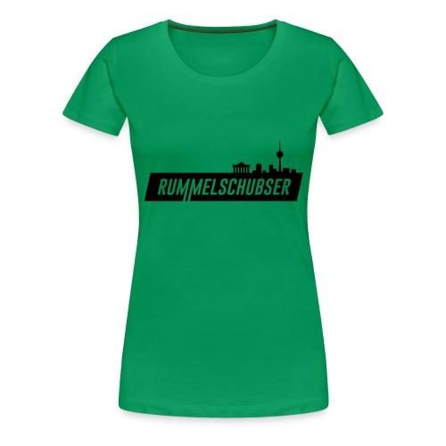 RS Balken schwarz - Frauen Premium T-Shirt