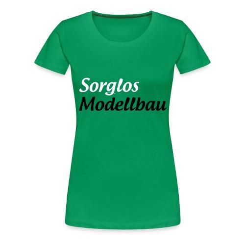 Sorglos Modellbau Logo - Frauen Premium T-Shirt