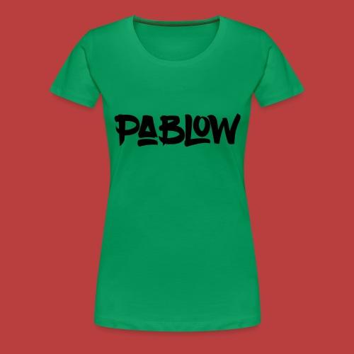Pablow Logo - Vrouwen Premium T-shirt