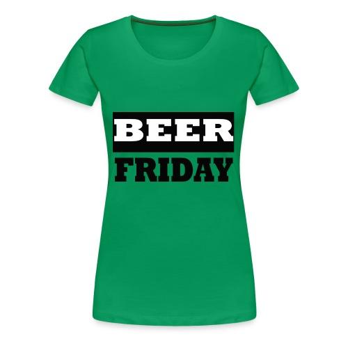 beerfriday - Camiseta premium mujer