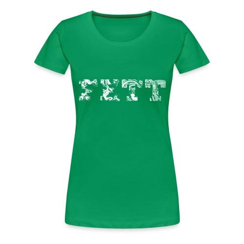 Fett skulls - Vrouwen Premium T-shirt