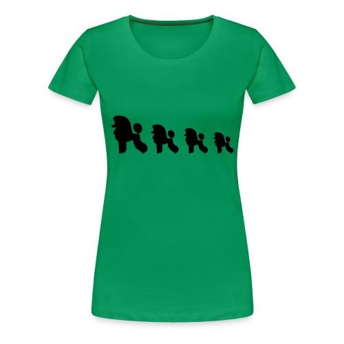 Villakoirat - Naisten premium t-paita